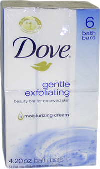 Gentle Exfoliating Moisturizing Cream Beauty Bar