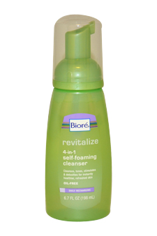 Revitalizing Self-Foaming Cleanser