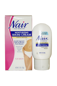 Moisturizing Bikini Cream with Vanilla Smoothie Hair Remover 50 ml 1.7 oz Cream