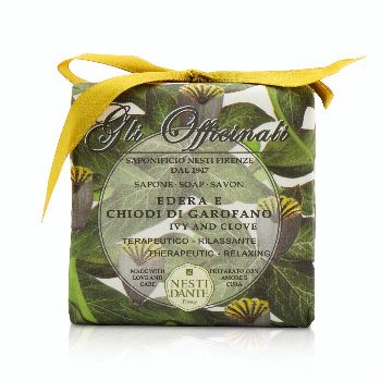 Gli-Officinali-Soap---Ivy--Clove---Therapeutic--Relaxing-Nesti-Dante