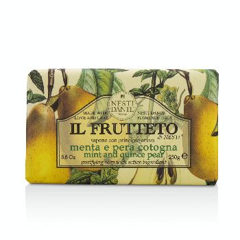 Il-Frutteto-Purifying-Soap---Mint-and-Quince-Pear-Nesti-Dante