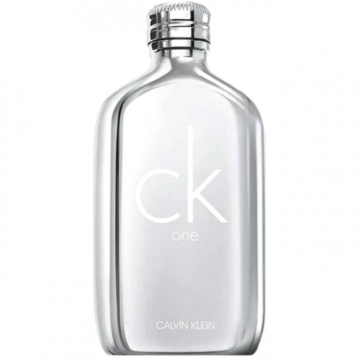 CK One Platinum Edition