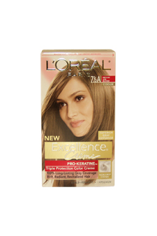 Excellence-Creme-Pro---Keratine-#-7.5A-Medium-Ash-Blonde---Cooler-LOreal