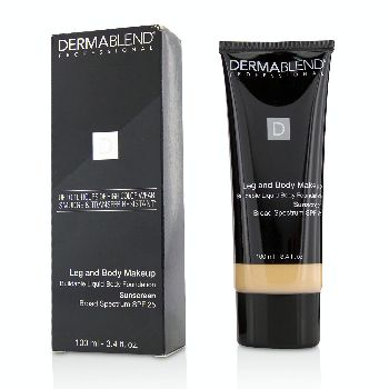 Leg-and-Body-Make-Up-Buildable-Liquid-Body-Foundation-Sunscreen-Broad-Spectrum-SPF-25---#Fair-Ivory-10N-Dermablend