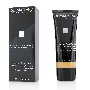 Leg-and-Body-Make-Up-Buildable-Liquid-Body-Foundation-Sunscreen-Broad-Spectrum-SPF-25---#Light-Sand-25W-Dermablend
