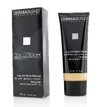 Leg-and-Body-Make-Up-Buildable-Liquid-Body-Foundation-Sunscreen-Broad-Spectrum-SPF-25---#Fair-Nude-0N-Dermablend