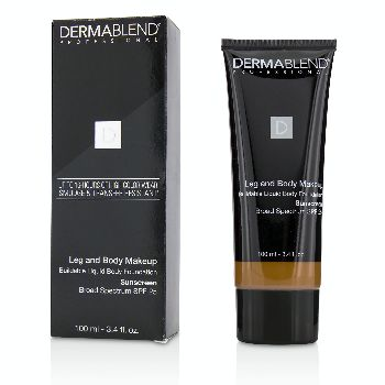 Leg-and-Body-Make-Up-Buildable-Liquid-Body-Foundation-Sunscreen-Broad-Spectrum-SPF-25---#Deep-Golden-70W-Dermablend