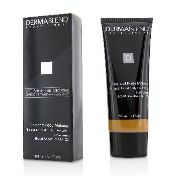 Leg-and-Body-Make-Up-Buildable-Liquid-Body-Foundation-Sunscreen-Broad-Spectrum-SPF-25---#Tan-Golden-65N-Dermablend