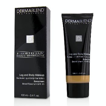 Leg-and-Body-Make-Up-Buildable-Liquid-Body-Foundation-Sunscreen-Broad-Spectrum-SPF-25---#Light-Beige-35C-Dermablend