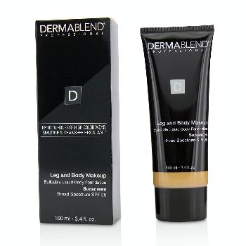Leg-and-Body-Make-Up-Buildable-Liquid-Body-Foundation-Sunscreen-Broad-Spectrum-SPF-25---#Medium-Natural-40N-Dermablend