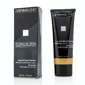 Leg-and-Body-Make-Up-Buildable-Liquid-Body-Foundation-Sunscreen-Broad-Spectrum-SPF-25---#Medium-Golden-40W-Dermablend