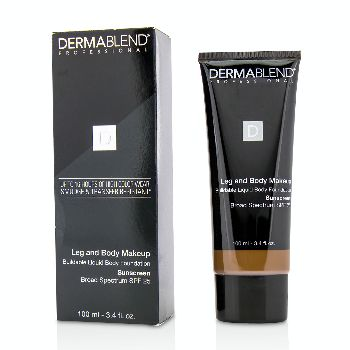 Leg-and-Body-Make-Up-Buildable-Liquid-Body-Foundation-Sunscreen-Broad-Spectrum-SPF-25---#Deep-Natural-85N-Dermablend