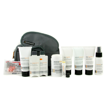 Travel-Kit:-Face-Wash---Lotion---Shave-Formula---Post-Shave-Repair---Shampoo---Deodorant---Lip-Protection---Eye-Mask---Ear-Plugs---Bag-Menscience