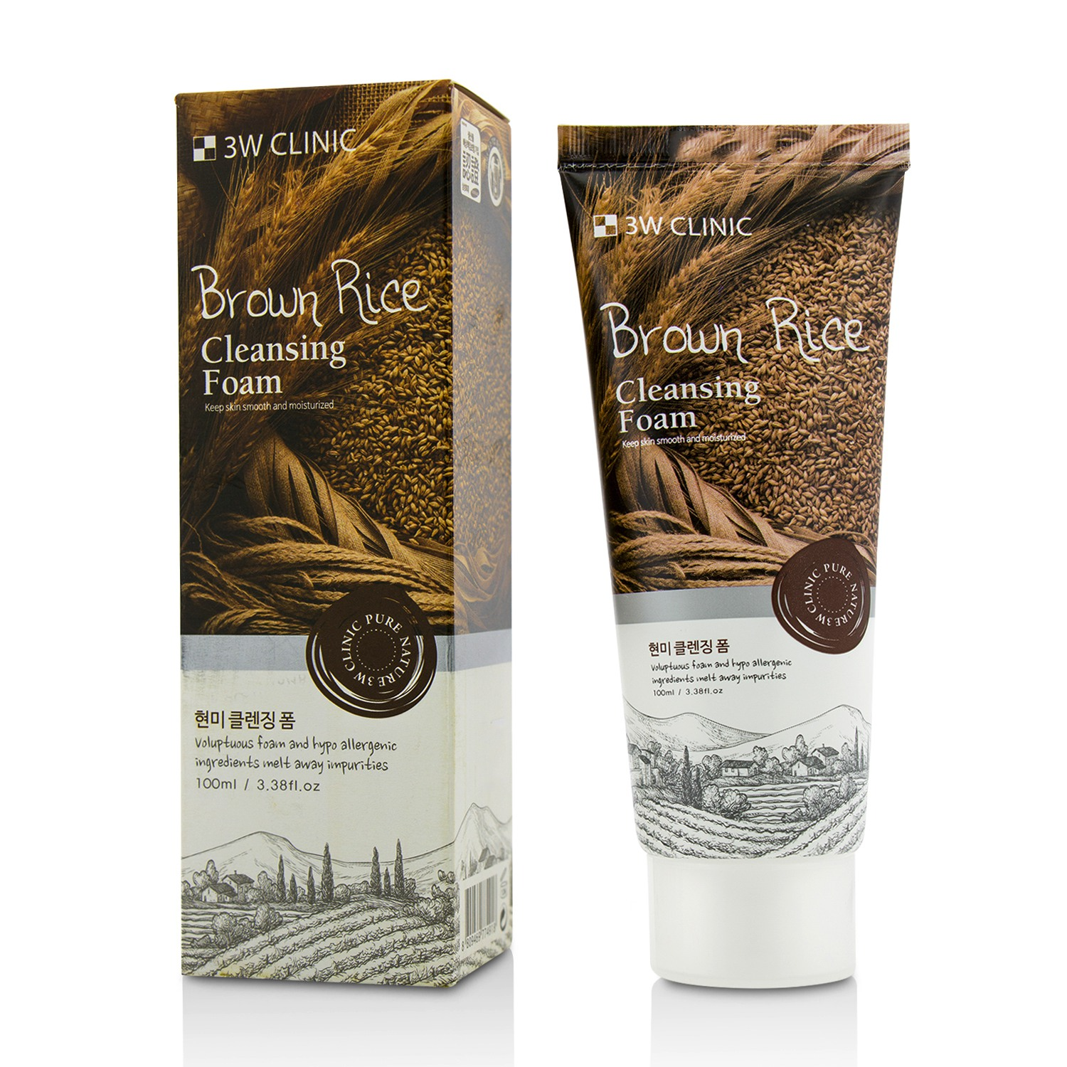 Image of Cleansing Foam - Brown Rice 100ml/3.38oz