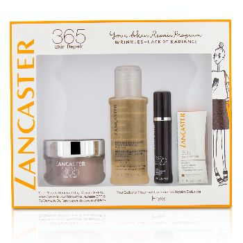 365-Skin-Repair-Set:-Youth-Renewal-Day-Cream-50ml--Serum-Youth-Renewal-10ml--Eye-Serum-3ml--Express-Cleanser-100ml-Lancaster